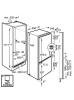 Šaldytuvas AEG SCB61821LF