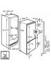 Šaldytuvas AEG SCS81800C0